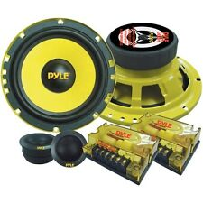 Pyle PLG6C 6.5-Inch 400-Watt 2-Way Custom Component System by Pyle (BRAND NEW)