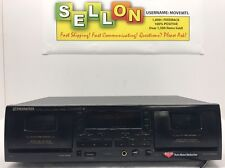 PIONEER CT-W503R Double Cassette Deck Stereo Auto System Player Recorder Tested!