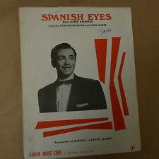 Canción Hoja Española Ojos Al Martino 1965