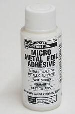 Micro Scale Micro METAL FOIL ADHESIVE MI-8  For Models / Hobby / Crafts