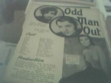 newspaper article 1947 - odd man out production 2 page