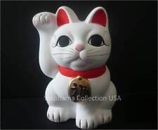 "Welcome 3.75"" Tall Cat Right-Hand Paw Fuku Maneki Neko / MADE IN JAPAN"
