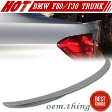 Color #A83 PAINTED BMW F30 3-Series Performance Trunk Spoiler ABS 335i 318d 330d