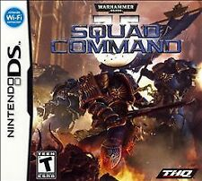 Nintendo DS Game --- Warhammer SQUAD COMMAND --- Lite NDS - Free S&H