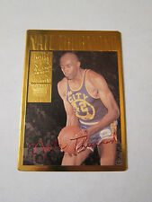 94 Action Packed Basketball Nate Thurmond 24kt Gold Card   21G