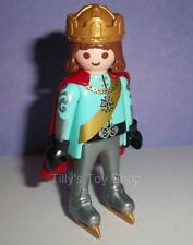 Playmobil  - Palace Figure - King with Crown,Cloak,Gloves & Ice skates -NEW 2016