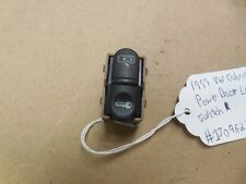 1999 VW Cabriolet Power Door Lock Switch 1J0962125