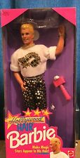 Barbie Hollywood Hair Ken Doll NRFB 1992 Mattel