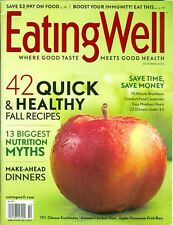 2010 Eating Well Magazine: Quick & Healthy Fall Recipes/Nutrition Myths
