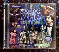 DOCTOR WHO: THE TOMB OF THE CYBERMEN Classic TV Adventure, Audio Book (BBC)