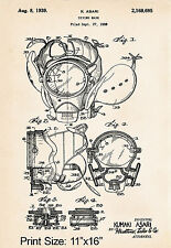 1938 Asari Diving Gifts For Him Navy Diver Gift Steampunk Decor Patent Print