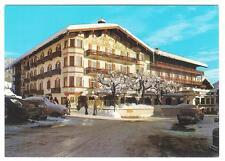AK Hotel Unterwirt Reit im Winkel mit Schnee und Autos