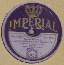 RADIO IMPS - Let A Smile Be Your Umbrella 78 rpm disc