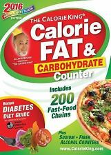Calorie King Calorie Fat and Carbohydrate Counter 2016    The Calorieking