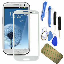 White Replacement Screen Glass Lens Kit For Samsung Galaxy S3 i9300 I747 T999