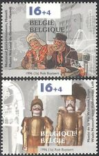 Belgium 1996 Gin/Alcohol/Drink/Puppets/Museum/Theatre/Soldiers 2v set (n22919)