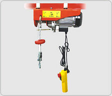 New HD 880LB UL approved ELECTRIC MOTOR OVERHEAD GARAGE WINCH HOIST