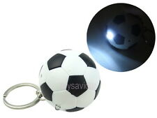 Soccer Ball Football Key Chain with LED Light and Sound