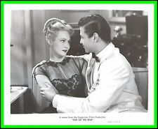 "VIRGINIA MAYO & TURHAN BEY in ""Out of the Blue"" Original Vintage Photo 1947"