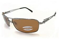 Serengeti Dante 7113 Sunglasses Shiny Gunmetal Polarized Shades