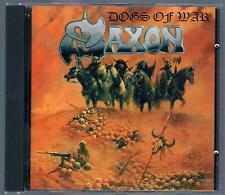 SAXON DOGS OF WAR  CD F.C. MADE IN ITALY