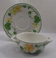Villeroy & and Boch GERANIUM - soup bowl / coupe and saucer