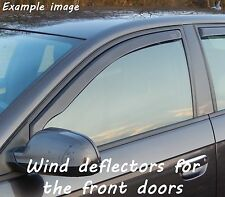 Wind deflectors for Chevrolet Captiva Facelift 2011-2013 SUV Offroad 5doors fron