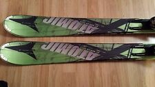 2012-2013 Green Atomic Nomad Colt skis 170 w/ XTO 10 Bindings