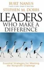 Burt Nanus et al~LEADERS WHO MAKE A DIFFERENCE~SIGNED 1ST(5TH)/DJ~NICE COPY