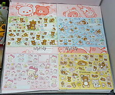 Rilakkuma Stickers 4pcs Made In Japan Limit