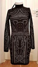 NEW Glamour Babe Long Sleeve Sequin Dress - S/M