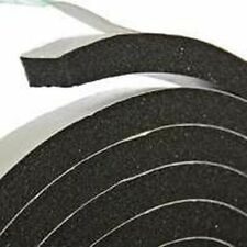 """NEW FROST KING R338H BLACK FOAM WEATHER STRIPPING TAPE SELF ADHESIVE 3/8"""" X 10FT"""