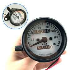 General Motorcycle Mini Electronic Speedometer with Odometer Night Light