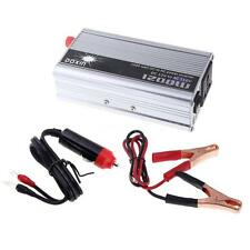1200W Auto Car Truck Power Inverter DC 12v To AC 110v Charger Converter US A5O5