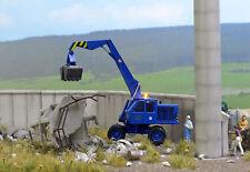 BUSCH 5619 Bagger »Hoch+Tief Bau GmbH« mit Blinkleuchte H0 #NEU in OVP#