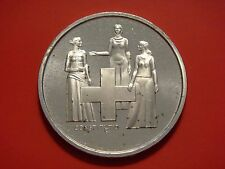 Switzerland 5 Francs, 1974, 100th Anniversary - Revision of Constitution