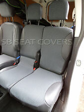 CITROEN BERLINGO ENTERPRISE VAN SEAT COVERS  89A + LEATHERETTE  MADE TO MEASURE