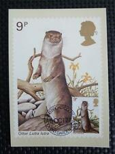 GB UK MK 1977 OTTER MAXIMUMKARTE CARTE MAXIMUM CARD MC CM c5050