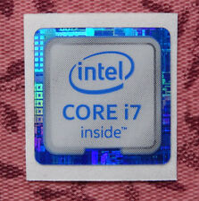 Intel Core i7 Inside Sticker 18 x 18mm 2015 Version Skylake Case Badge