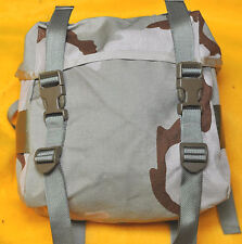 US Army DCU 3 color Desert tan Butt Pack ALICE hookup  Buttpack  New Improved