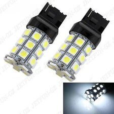 2X 7440 T20 27 SMD LED Light Bulb Xenon White Tail Backup Reverse Wedge Lamp 992