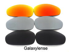 Galaxy Replacement Lenses For Oakley Juliet Black&Titanium&Red Polarized 3Pairs