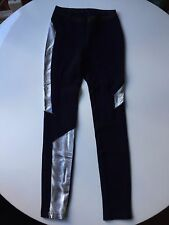 Hussein Chalayan leggings Blue Silver Size Small