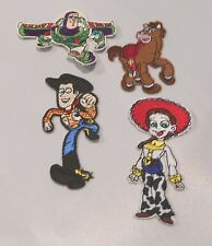 "DISNEY'S TOY STORY GROUP 3""-4"" TALL EMBROIDERED PATCH SEWN ON/IRON ON"