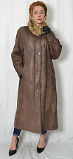 K691 Christ Lammfell Mantel Pelz Pelzmantel Women Fur Lambskin Sheepskin Coat L
