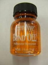 Bond Off Adhesive Remover ~ Glue ~ Stage make-up ~ 29ml ~ 1 fl.oz Ben Nye