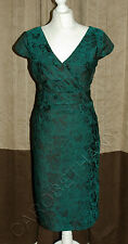 Phase Eight / 8 Lilly Stretch Jacquard dress Size 10 Worn once