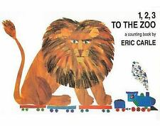 1, 2, 3 to the Zoo : A Counting Book by Eric Carle (1996, Board Book)