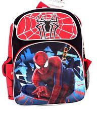 "Marvel Spider-man Kids Boys Backpack Bookbag Bag 18"" Diagonal NWT FREE SHIPPING"