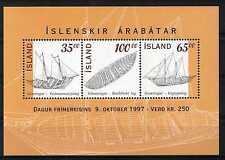 Islanda/Iceland 1997 Foglietto Barche islandesi (Bf 20) MNH